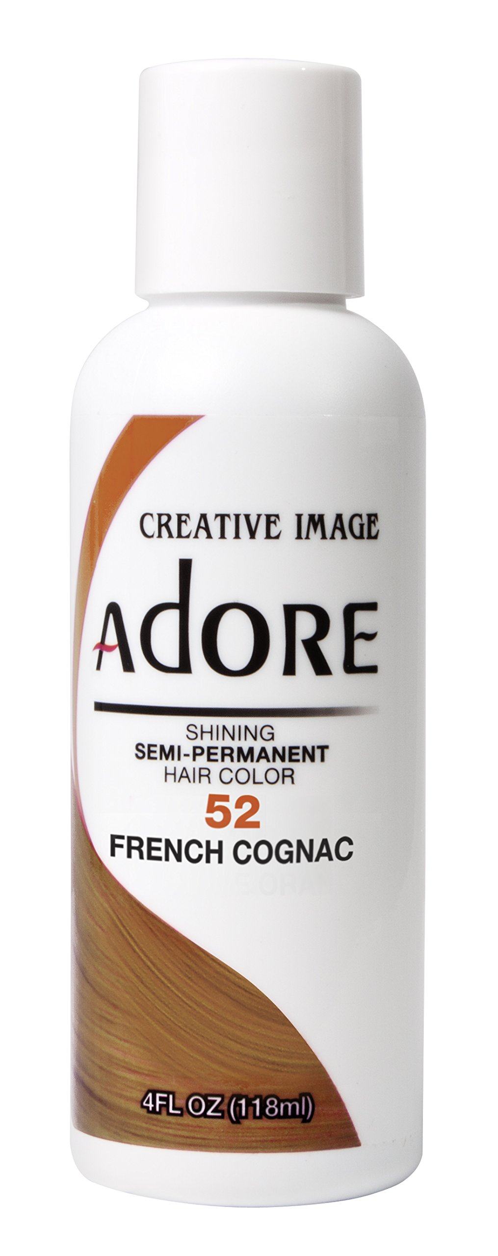 Adore Shining Semi Permanent Hair Colour, 52 French Cognac by Adore