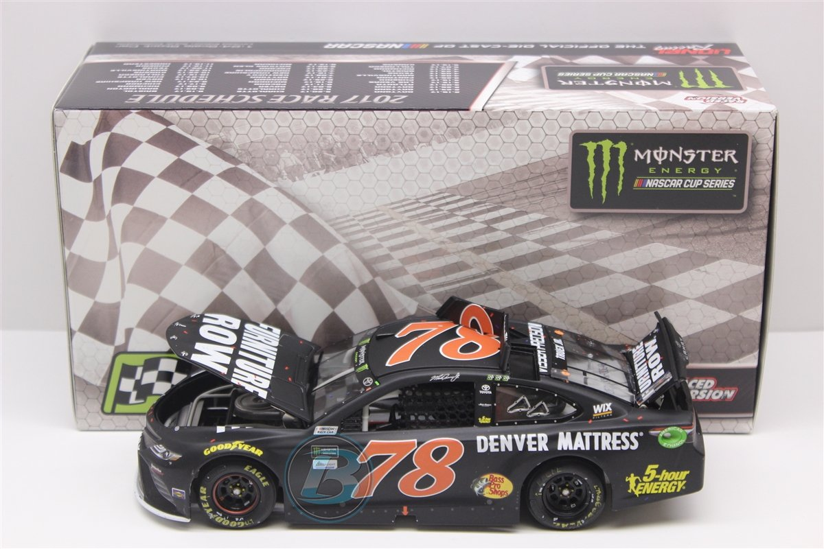 Lionel Racing Martin Truex Jr #78 Furniture Row Kentucky Win 2017 Toyota Camry 1:24 Scale Diecast Car by Lionel Racing
