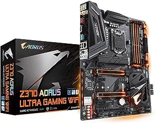 Gigabyte Z370AORUS Sockel 1151/Z370Express/DDR4/S-ATA 600/ATX Ultra Gaming WI-Fi–Schwarz