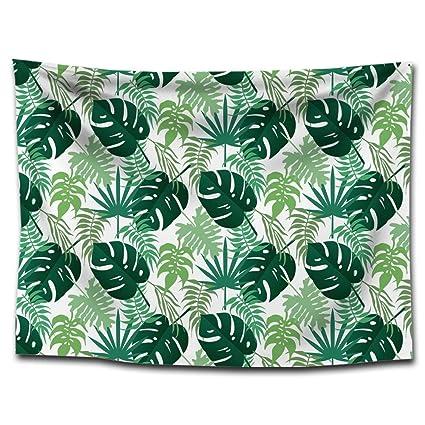 XINSU Home Impresión de Hojas Tropicales tapicería Lonas Mantas Toallas de Playa Pinturas para el hogar