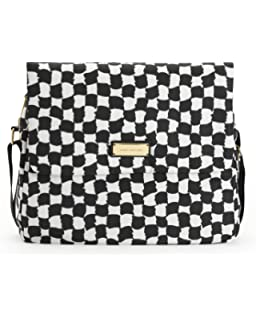 087fc794f2 Amazon.com  Juicy Couture Diaper Baby Bag Black New Bib Wipe Box ...