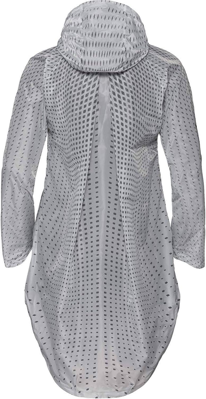 Odlo Parka Zaha Veste à Capuche Femme New Silver Grey/Zhd Aop Ss19.