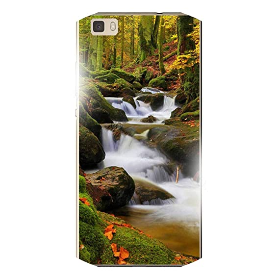 Amazon.com: for Huawei P8 Lite Phone Case Luxury Brooks Sea ...