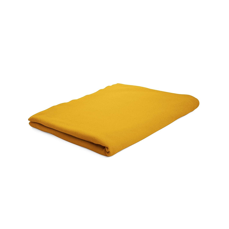 180x290 in Cotone Zafferano Colore: Giallo 180 x 290cm Today Lenzuolo