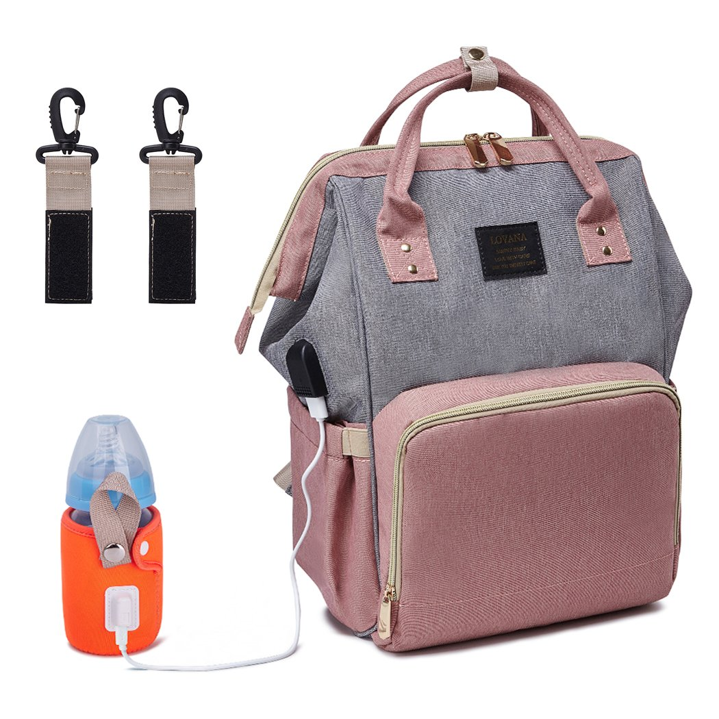 89017e9ffd8b BabyMemory Diaper Bag Multi-functional Mommy Backpack Waterproof Maternity  Travel Nappy Bags with...