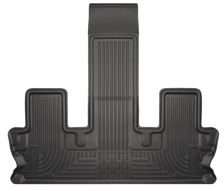 amazoncom husky liners 3rd seat floor liner fits highlander lele automotive