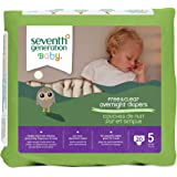 Seventh Generation Overnight Diapers - Size 5 - 20 ct