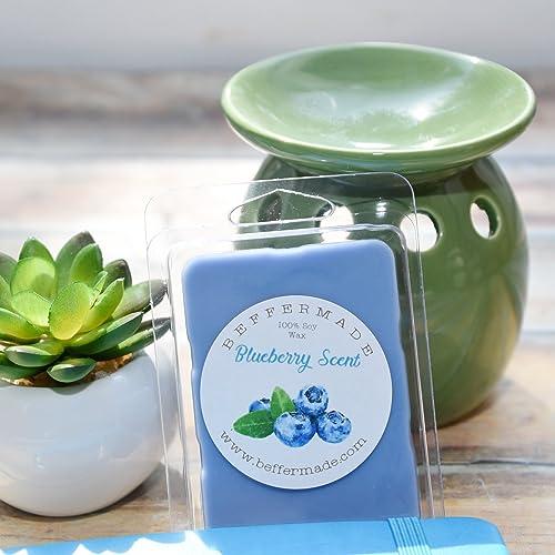 Blueberry Candle melt Housewarming Gift Soy Wax Tart Soy Wax Candle Melt Blueberry Scent Wax melt Scented Wax Melts Scented Wax Cube