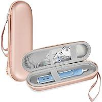 ProCase Reiskoffer voor Oral-B Philips Elektrische Tandenborstel, Houder voor Harde Draagtas –Rosegoud