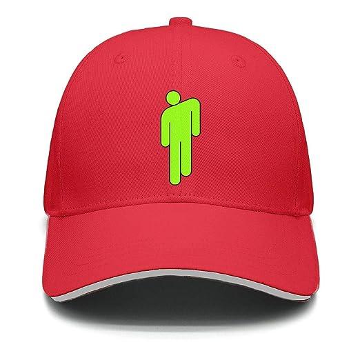 a8876566d Amazon.com: UNOPRTPT Billie Eilish Plain Sports Baseball Hats Cap Snapbacks  for Men Women: Clothing