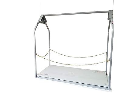 Versa-Lift 32WH 11-14 Foot Attic Lift Platform, Garage Attic Elevator,  Garage Systems For Storage - Garage Lift