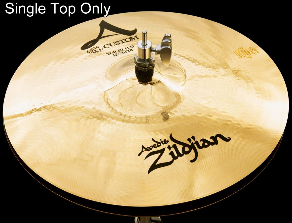 Zildjian A Custom Hi-Hat Top Only 14 in. by Avedis Zildjian Company