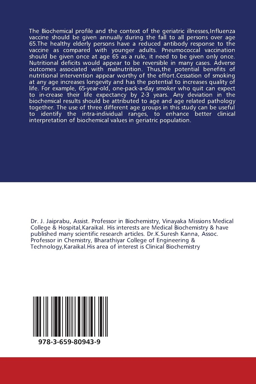 geriatric biochemical profile biochemical lipid profiles rft geriatric biochemical profile biochemical lipid profiles rft lft in geriatrics j jaiprabu k suresh kanna 9783659809439 com books