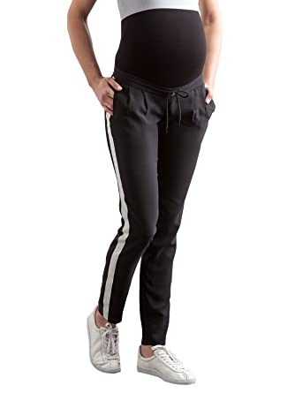 COLLINE 78 - Pantalón de chándal para Embarazo, Color Negro ...