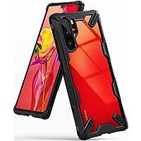 Ringke Fusion-X Cover Kompatybilny z Etui Huawei P30 Pro, Wstrząsoodporny Ochronny Cover Zderzaka z TPU - Black Czarny