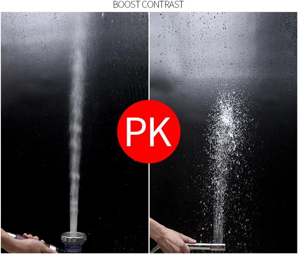 3 modos alta presi/ón y 30/% de ahorro de agua juego de cabezales de ducha de bola de energ/ía para cabello seco y piel Spa Guang-Tang Cabezal de ducha de filtro i/ónico de alta presi/ón