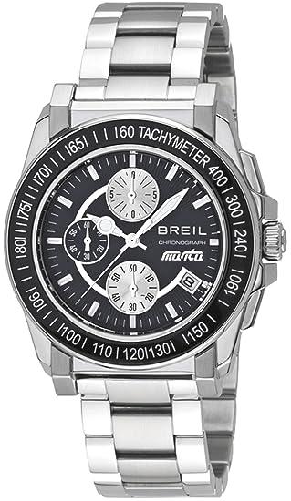 Breil TW0733 - Reloj analógico de cuarzo para hombre, correa de acero inoxidable multicolor (