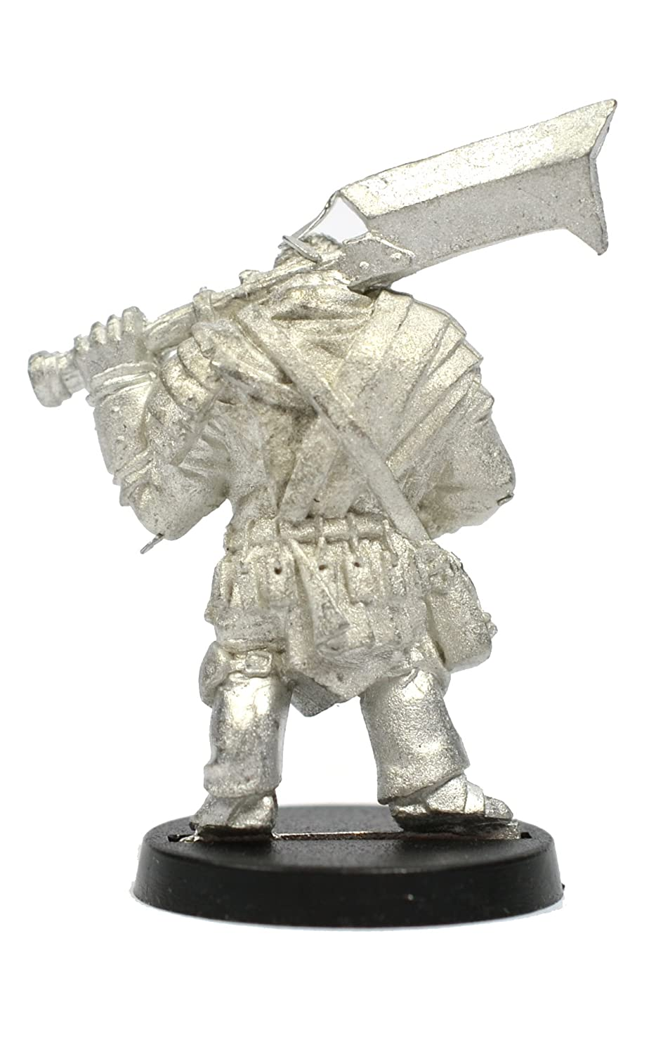 for 28mm Scale Table Top War Games Made in USA Stonehaven Half-Orc Fighter Miniature Figure