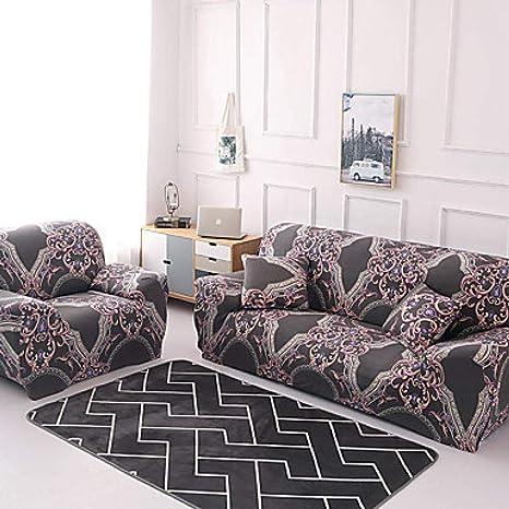 Funda de sofá elástica, Color Azul a Cuadros Azul Funda de ...