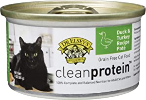 Dr. Elsey's Cleanprotein Duck and Turkey Formula Canned Cat Food, 3oz (Case of 18)