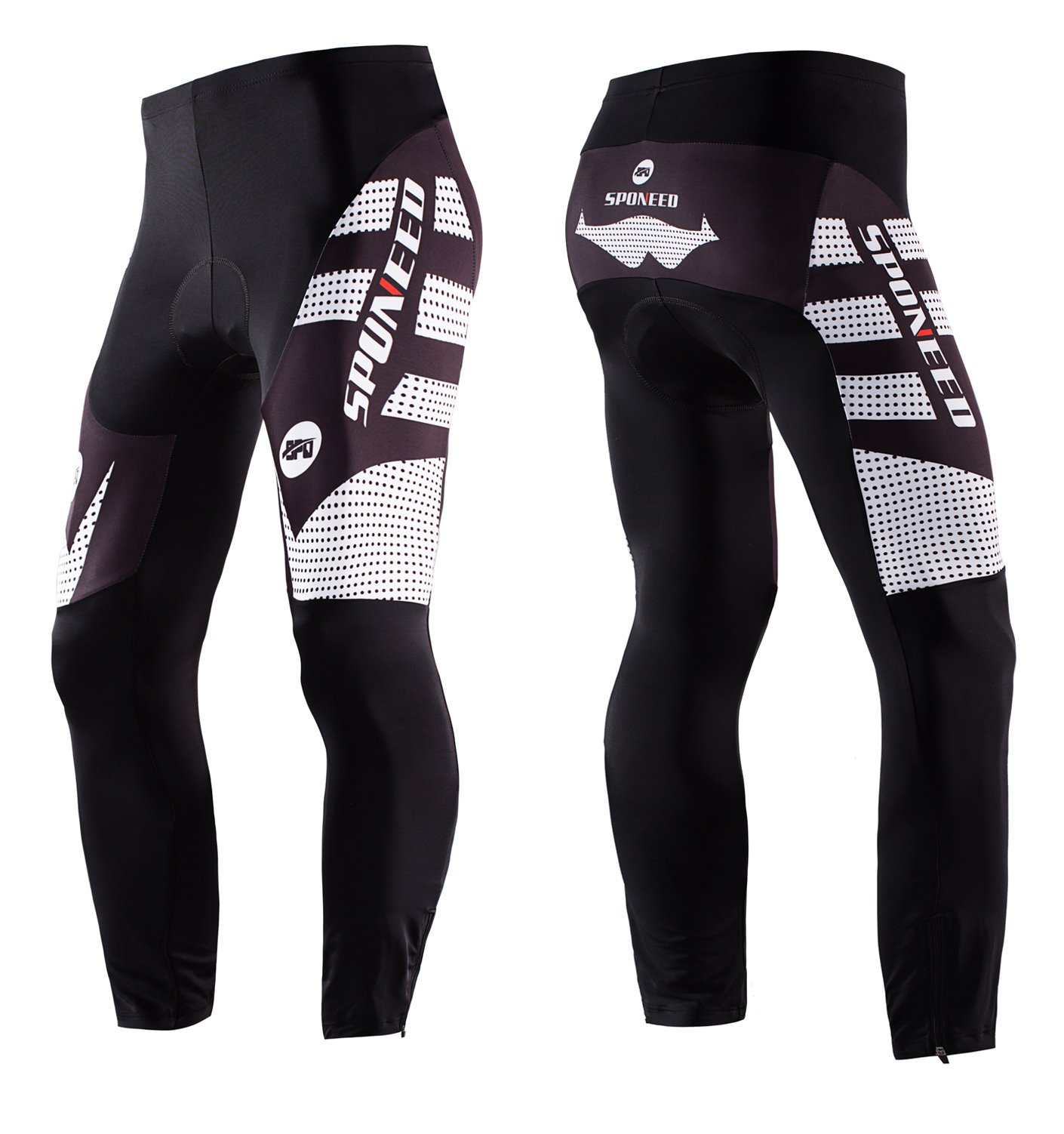 d687bce0a sponeed Men s Bicycle Pants 4D Padded Road Cycling Tights MTB Leggings  Outdoor Cyclist Riding Bike Wear