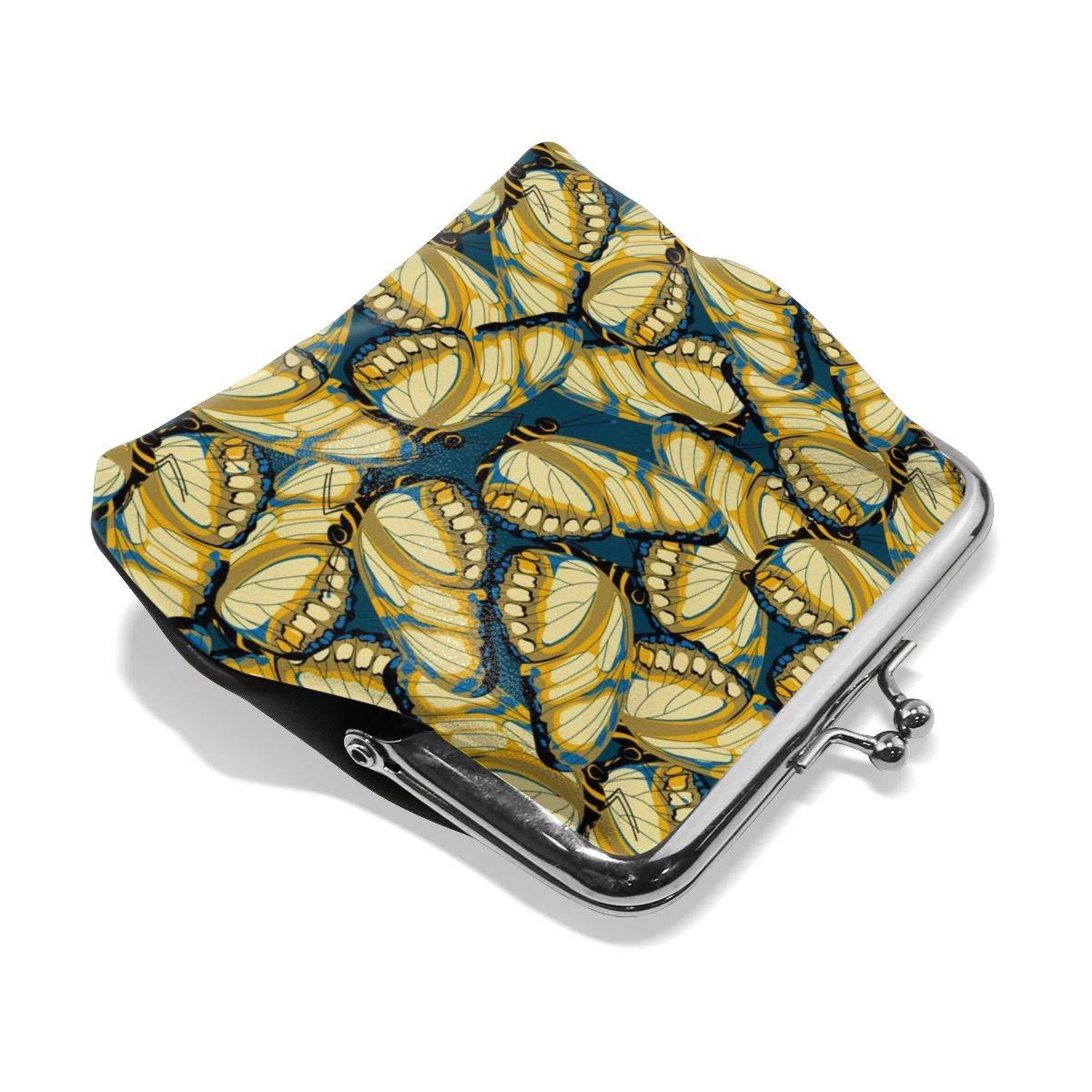 Butterflies Cute Buckle Coin Purses Buckle Buckle Change Purse Wallets