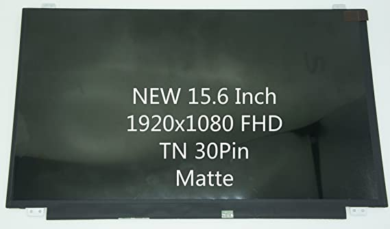 BRIGHTFOCAL New LCD Screen for NT156FHM-N62 IPS 15.6 Non-Touch FHD Full-HD 1080p LED Screen Replacement LCD Screen Panel Only