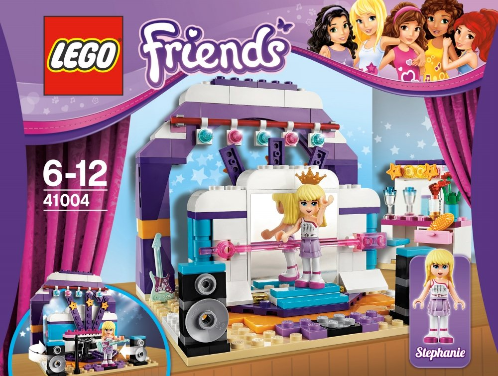 LEGO Friends 41004: Rehearsal Stage: Amazon.co.uk: Toys & Games