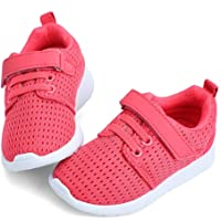 ❤️ Sunbona Toddler Baby Boys Girls Flat Sneaker Infant Kids Summer Candy Color Mesh Sport Running Soft Sole Casual Shoes