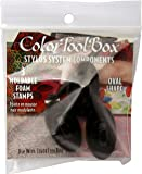 ColorBox Stylus Tips 3-pack Oval Black