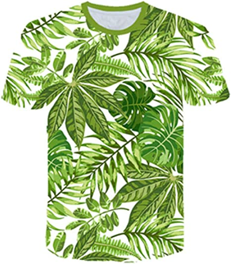 RCFRGV 3DT Camisa Parrot T Shirt Hombres Camiseta de Flores Hip Hop tee Red 3D Print Camiseta Cool Mens Clothing Summer Casual Tops Streetwear: Amazon.es: Deportes y aire libre