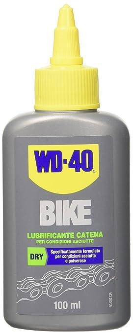 51 opinioni per WD-40 Bike- Lubrificante Catena Bici e MTB per Condizioni Asciutte e Polverose
