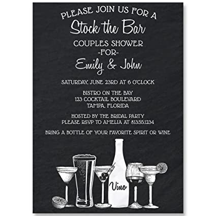 3aeadfbbe7d5 Amazon.com   Couples Shower Invitation