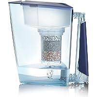 Filtre à eau Mauna Wai® Premium BIO fabriqué en Allemagne + 1Eau Potable Théière + 1filterkatusche et masse filtrante (pour 3mois)–Bleu, eau potable Filtre + Filtre Théière