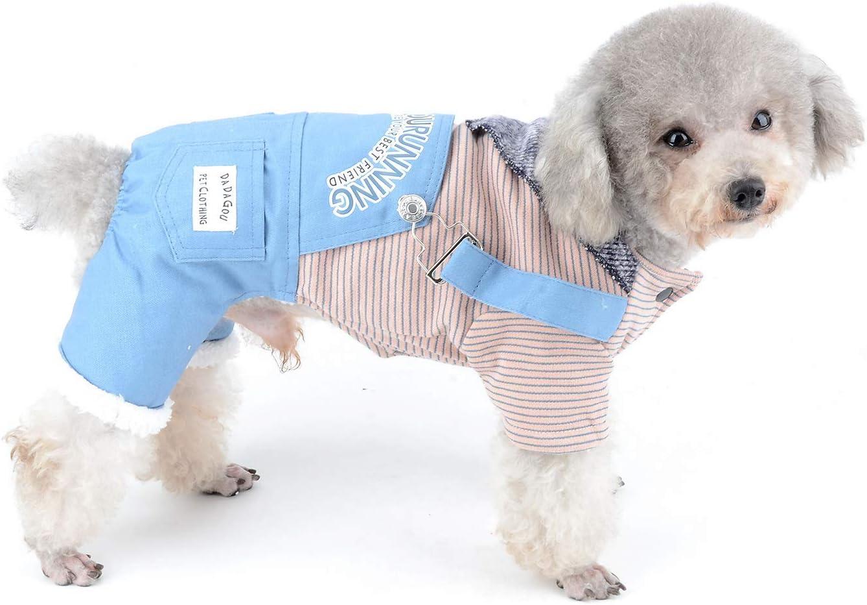 Navy Stripe Pet Brands Happy Puppy Sailor Uniform Dog Harness Extra Small