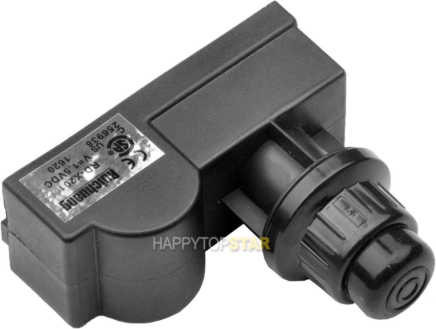 BBQ 03310 Spark Generator 1 Outlet AA Battery Push Button Igniter Ignitor Replacement BBQ Gas Grill Amana, Uniflame, Surefire, Charmglow, Charbroil, Centro, Brinkmann, BBQ Pro, Bakers, Chefs Solaire,