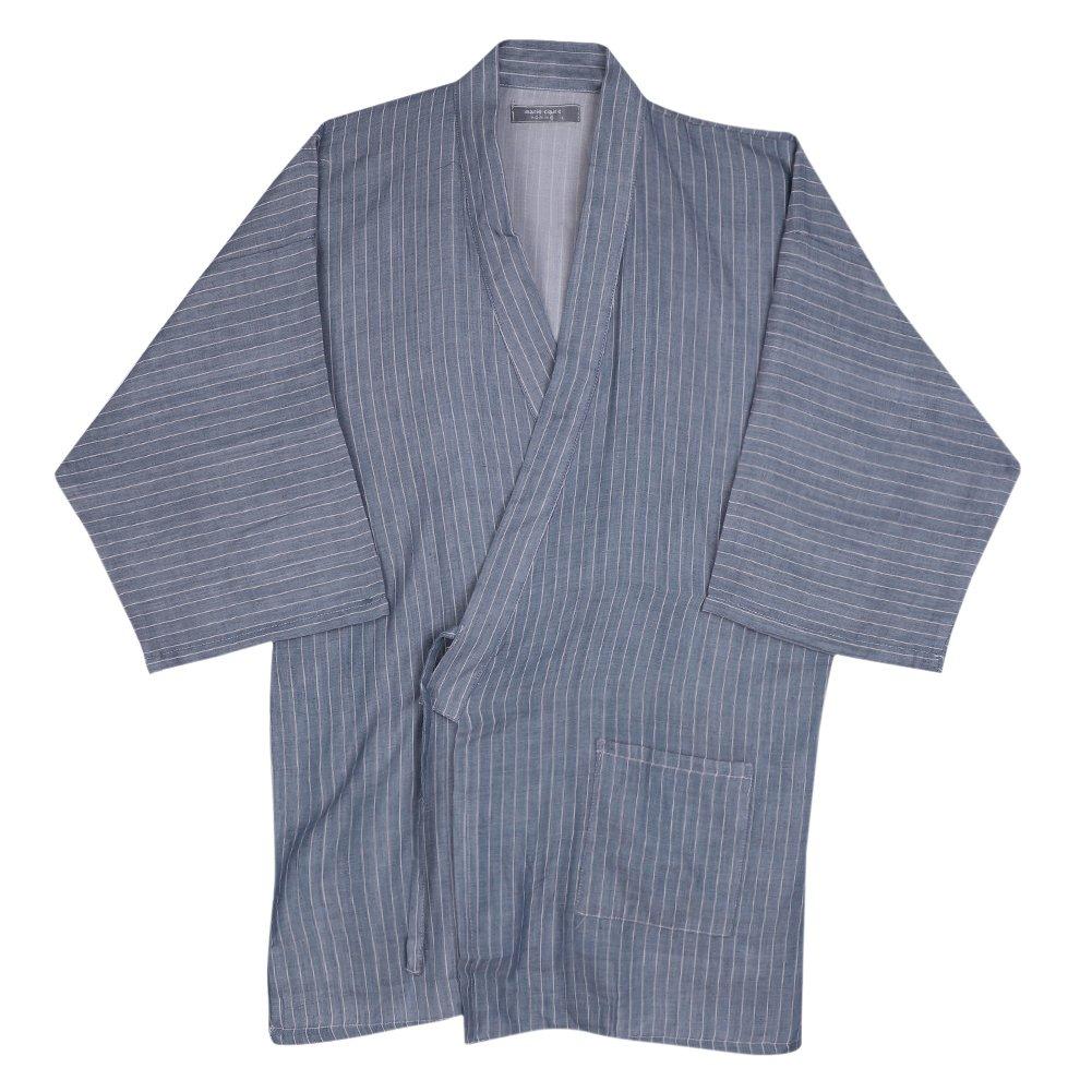 Pyjamas de Kimono Japonais Femmes Hommes Coton Ensemble de Pyjama Doux Respirant Peignoir de Bain Douche Grande Taille Chemise de Nuit /à Manches Courtes V/êtement de Chambre H/ôtel Sauna Spa Piscine
