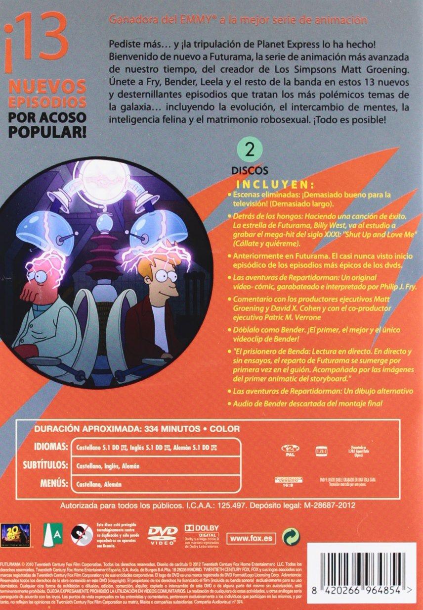 Amazon.com: Futurama S.5 (Import Movie) (European Format - Zone 2) (2012) Animación.; Peter Avanzino, Susie Dietter: Movies & TV