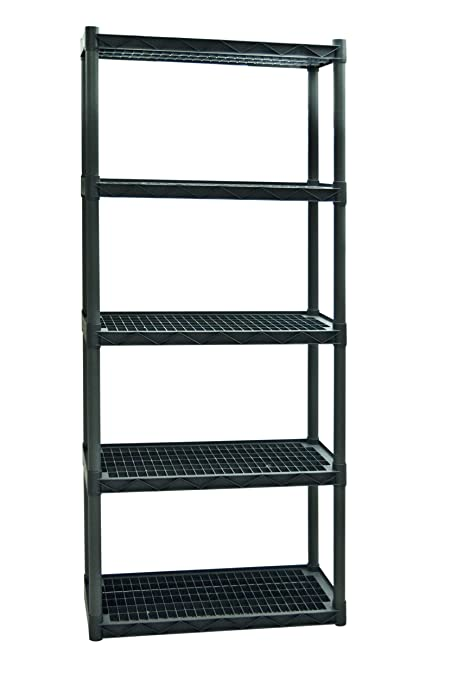 Plano Molding 925 Heavy Duty Shelving With Vents 5 Shelf