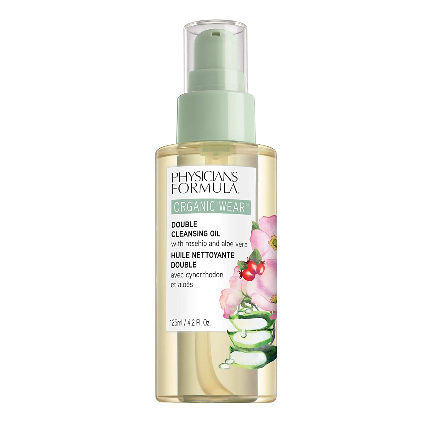 Physicians Formula Organic Wear Double Cleansing Oil, Cleanse, 0.42 Fl Ounce