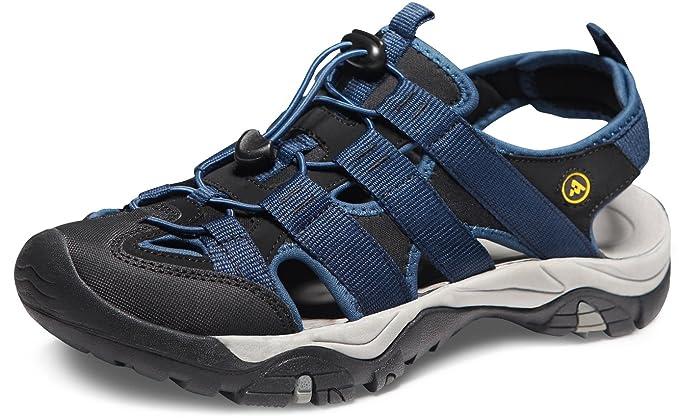 2869443db ATIKA Men s Sports Sandals Trail Outdoor Water Shoes 3Layer Toecap  M108 M107 M106