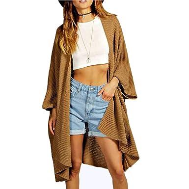 Comfiestyle Damen Oversized Strickjacke  Amazon.de  Bekleidung f45c0679b9