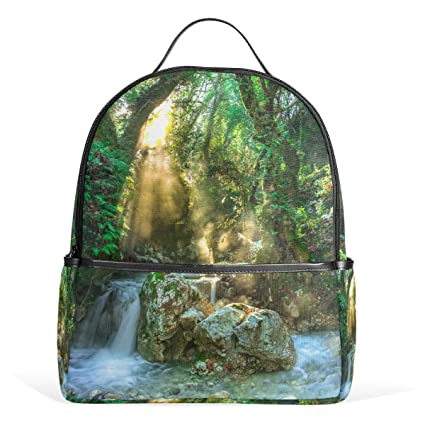82406c19e010 Amazon.com: FAJRO in The Wood Torrent Travel Backpack for ...