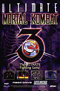 Amazon com: Mortal Kombat 3 Video Arcade Game Poster Print