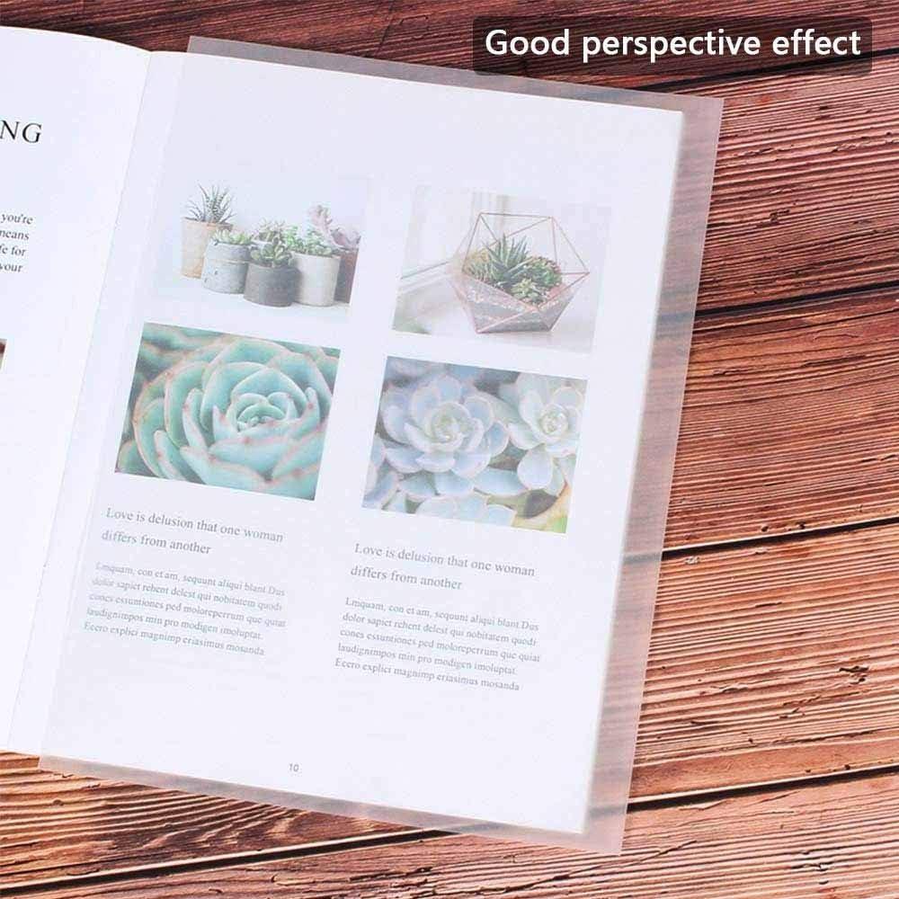 Feuilles de Transparents Dessin Papier Calque Graphique pour Limpression Tra/çage Papier de Copie Transparent Architecture Conception 100 Pi/èces Dessins Translucides