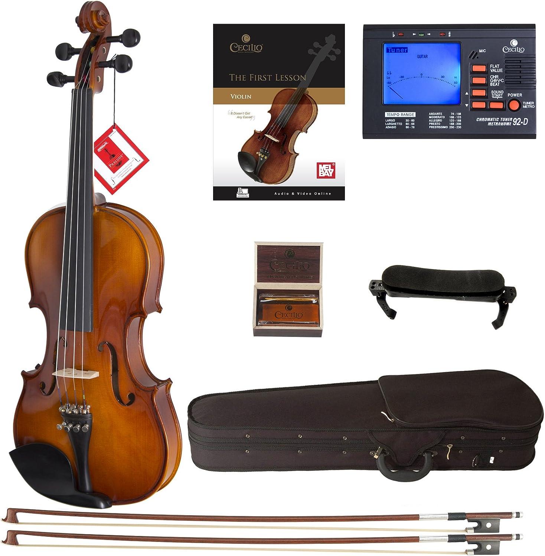 Cecilio Violin For Beginners - Beginner Violins Kit For Student...