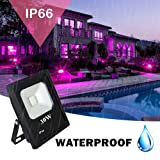 UV LED Black Light, RONSHE 30W UV LED Flood Light