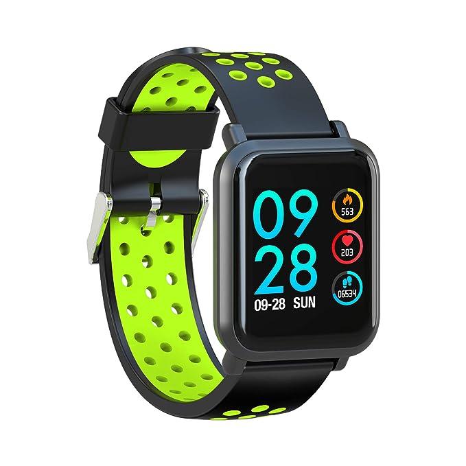 Leotec MultiSport Helse - Smartwatch, color verde: Amazon.es: Electrónica