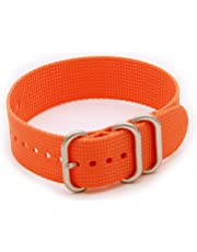 Helm Watches NS1 Nylon Watch Strap - Orange