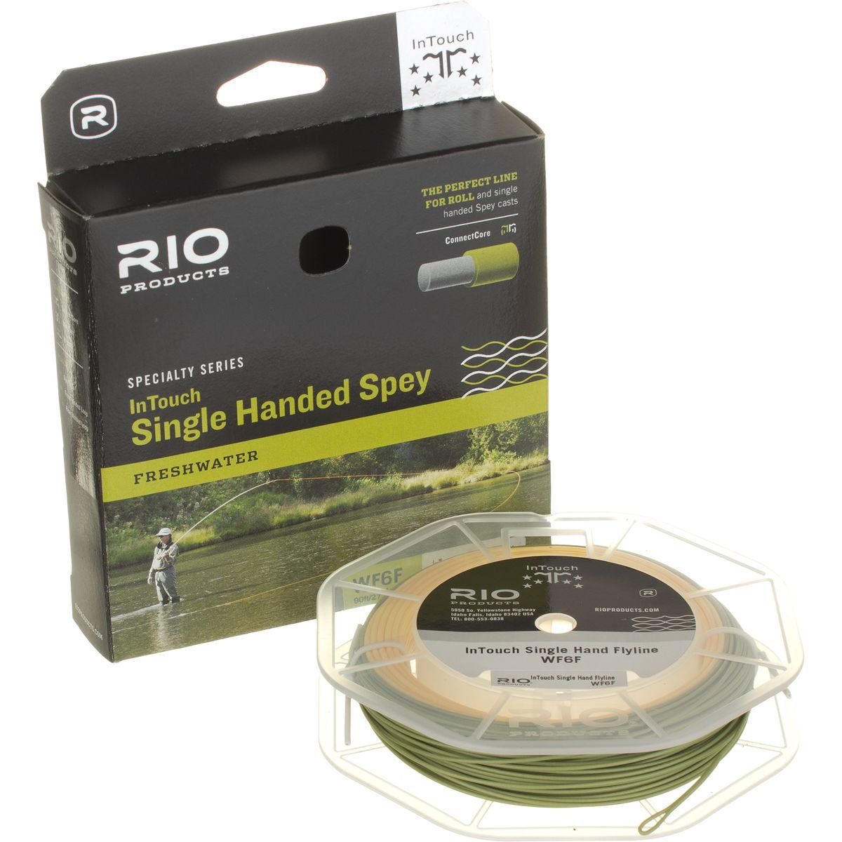 Rio Fly Fishing InTouch Single Hand Spey Fly Line   B014I48ATG